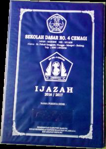Map Ijazah Cover Sheet